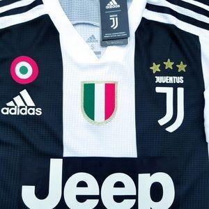 acbea8b86 adidas Shirts - 2018 19 Juventus soccer jersey Ronaldo player vers